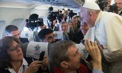 Encuentro del Papa con los periodistas