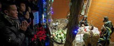 A la espera de Navidad, en China