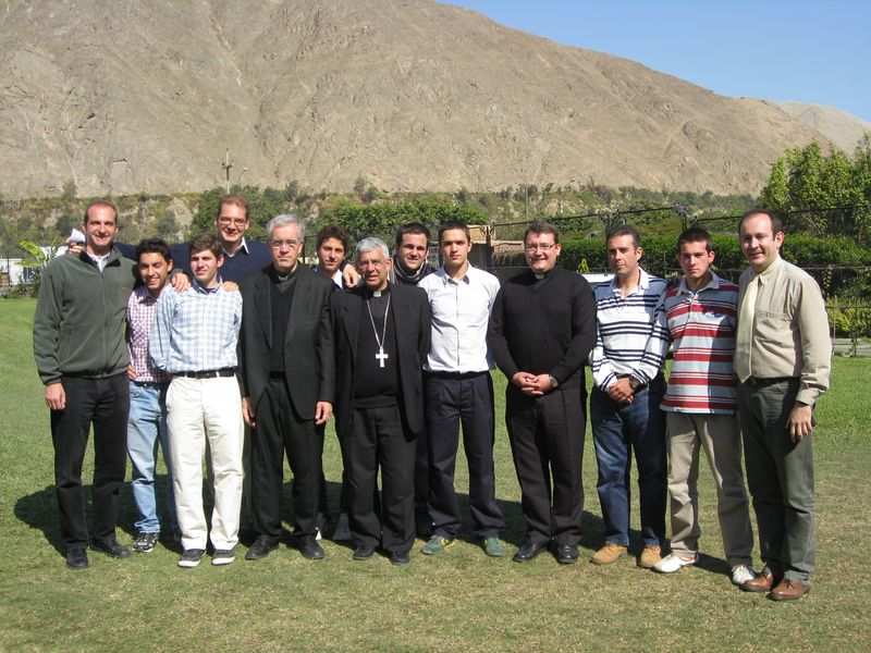 En Lunahuaná con el Señor Obispo