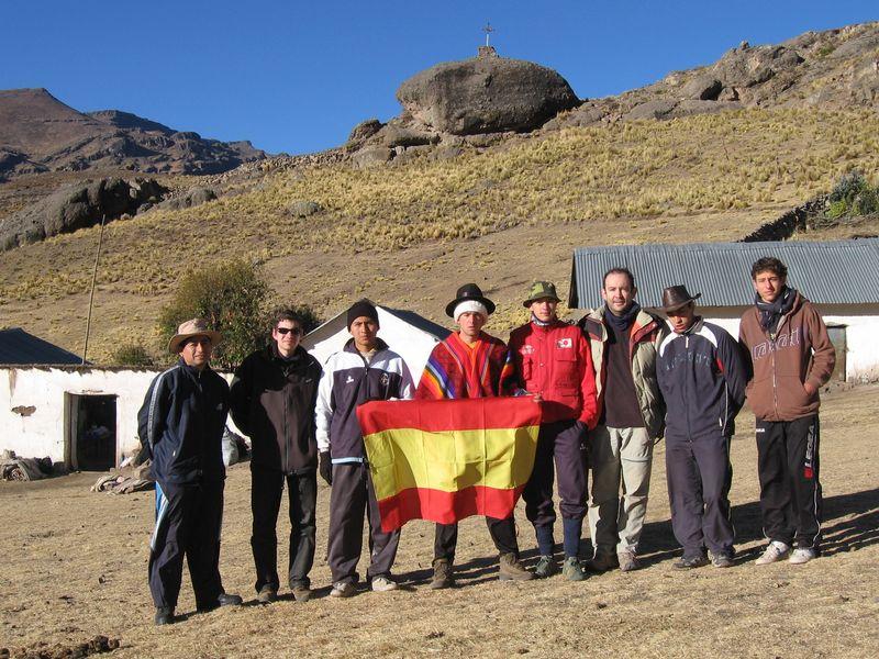 Victoriosos en Pachachaca a 5050 m