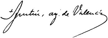 Almudi.org - Firma de Mons. Agustín García-Gasco