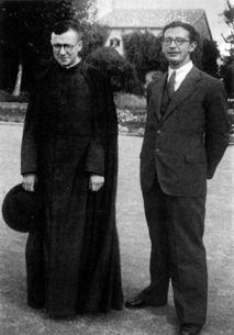 San Josemaría y Álvaro del Portillo en Valenica
