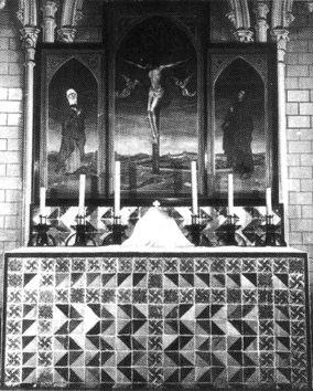 Retablo Oratorio Residencia Samaniego