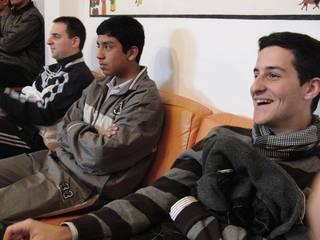 Almudi.org - Esteban Zunín, de tertulia en el Seminario Mayor de Cañete