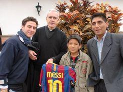Almudi.org - José María, con Julián y su hijo